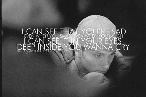 eminem, lyrics, marshall mathers, mockingbird, music, quote, slim shady, song