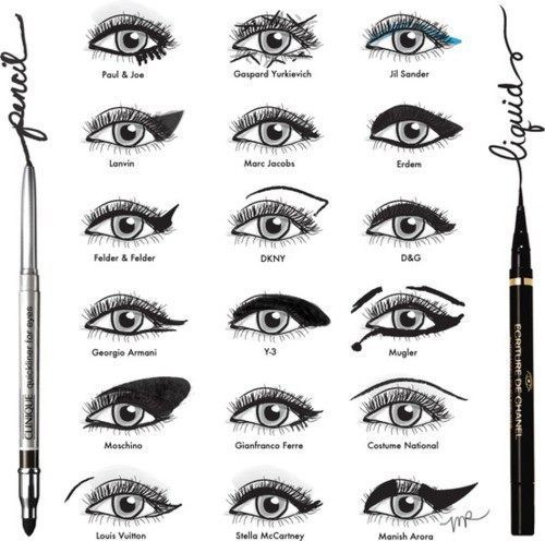 eyeliner, eyes, fashion, how to, illustration