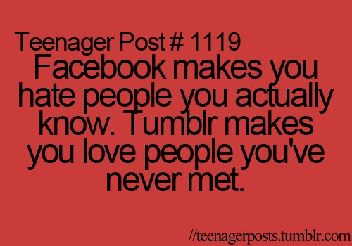 facebook, sooooo true :d, teenager, teenagerposts