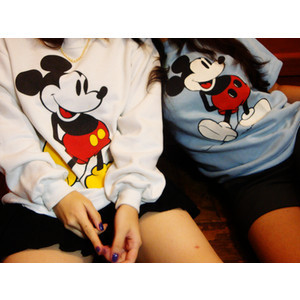 fashion, friends, mickey, mickey mouse, sweater