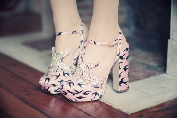 fashion, girl, miu miu, pinky, shoes