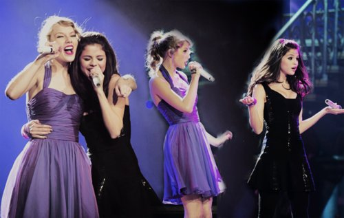 fashion, girls, lights, pretty, selena, selena gomez, taylor, taylor swift