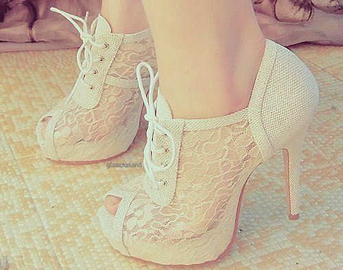 fashion, high-heeled, pretty