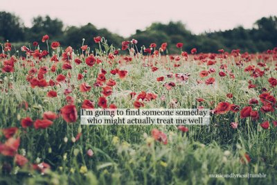 flowers, love, red, someday, text