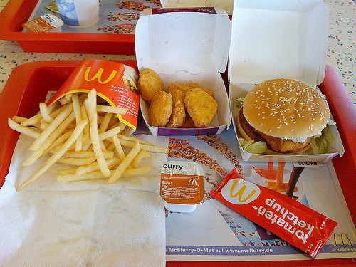 food, fries, hamburger, love, mc donalds, yum