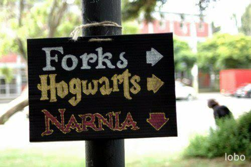 harry potter, narnia, twilight