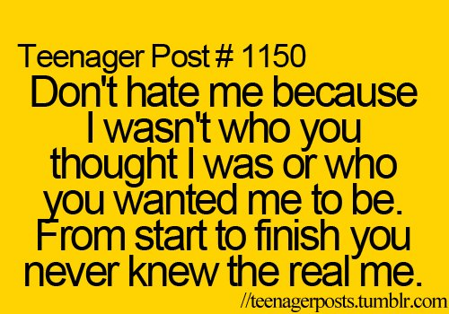hate, inspiration, life, real, start, teenager post, teenager posts, text, true, words