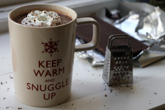 hot chocolate, keep calm, snowflake, winter