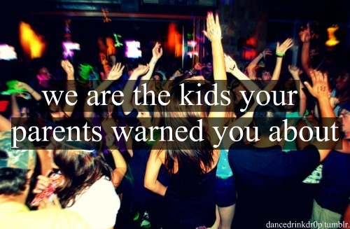 life, party, teenagers, young people