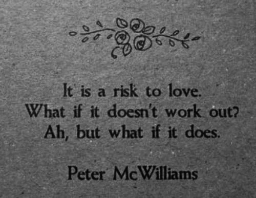 love, peter mcwilliams, risk, text