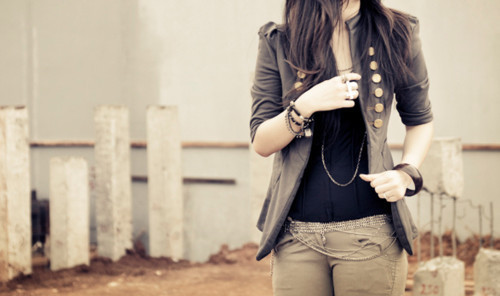 accessories, chain, cute, fashion, girl