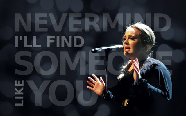 adele, crown, fire, hometown glory, hopeless place