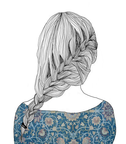 adorable, art, blonde, boy, braid, braids, cute, drawing, dutch braid, fashion, french braid, nice, perfect