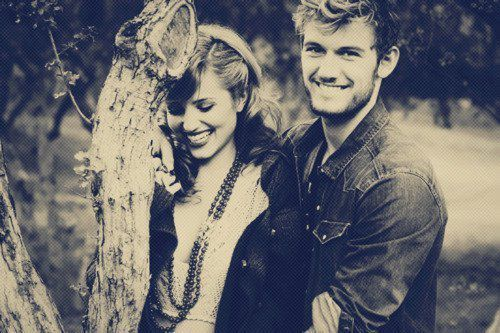 alex pettyfer, boy, diana argon, girl, happy