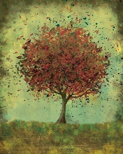 alone, art, arts, artwork, autumn, cold, dream, green, hope, illustration, leave, leaves, live, lovely, peace, tree, wind
