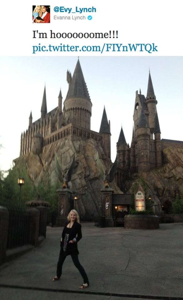 amazing, awesome, castle, evanna lynch, funny, harry potter, hogwarts, idaz, luna lovegood, movie
