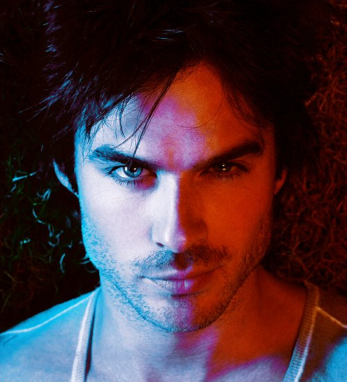 amazing, damon, damon salvatore, eyes, hair