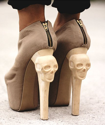 amazing, high heels, pretty, skulls, suede