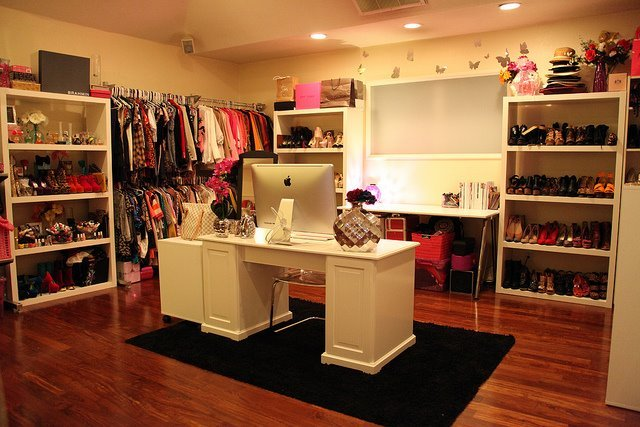 apple, dream room, dresses, fashion, mac book