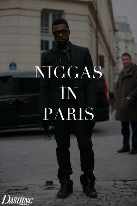 art, artist, kanye west, music, niggas in paris