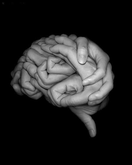 art, brain, cool, hands, wow