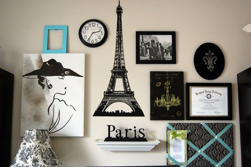 art, eiffel tower, figurine, paintings, paris