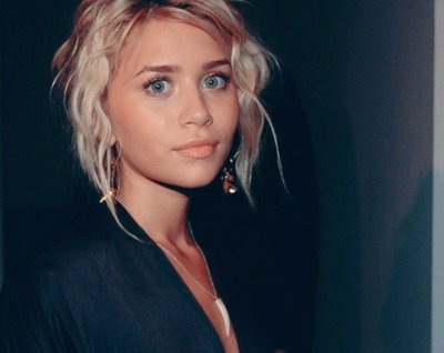 ashley, ashley olsen, blonde, fashion, mary kate, not mary kate, olsen, olsen twins, photograph, polaroid, pretty, style