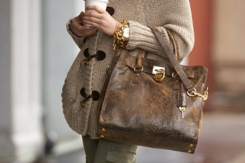 autumn, bag, brown, cute, fall