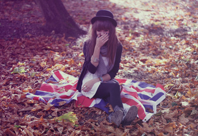 autumn, beautiful, blonde, british, british flga