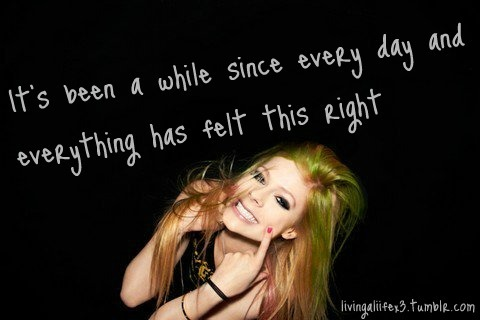 avril, avril lavigne, cute, girl, hair, happy, lavigne, love, quote, smile