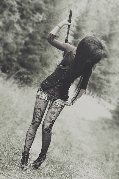 awesome autfit, beautiful, black, cute, emo