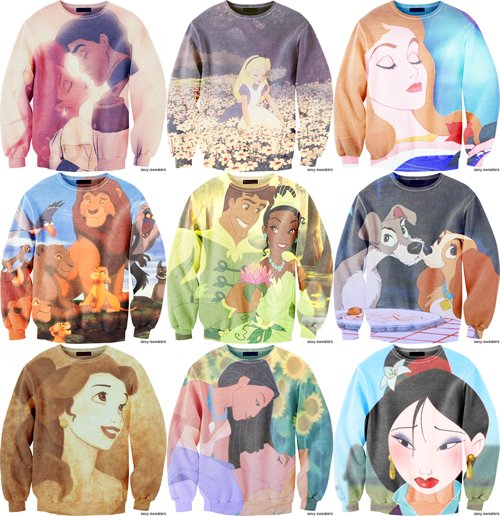 awesome, badass, disney, disney classics, i want one, just the shit, princess, sweaters