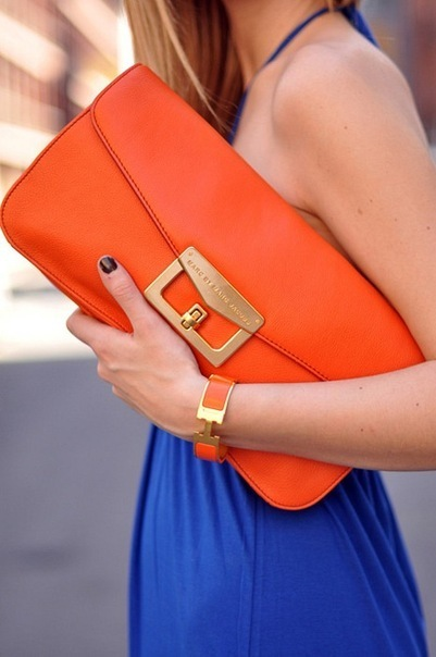 bag, beautiful, blue, bright, dress
