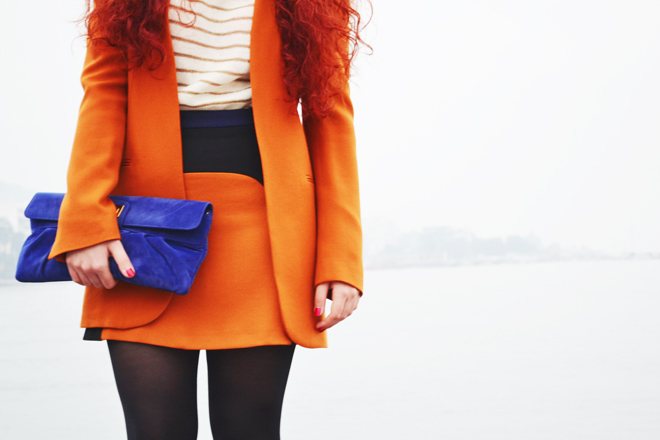bag, blogger, blue, fashion, girl