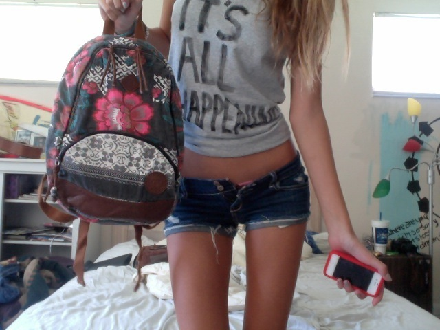 bag, blonde, body, shorts, skinny