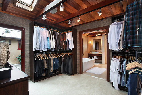 bathroom, big, boy, closet, clothes, clothing, fashion, house, huge, large, man, plaid, style, tops, want