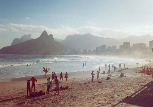 beach, brazil, coast, friends, light