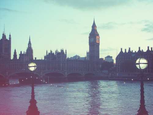 beatiful, big ben, city, grain, london