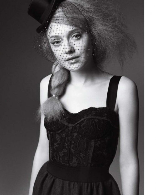 beautiful, black and white, dakota, dakota fanning, fanning, fashion, girls, hair, lace, love, photo, photoshoot, pretty