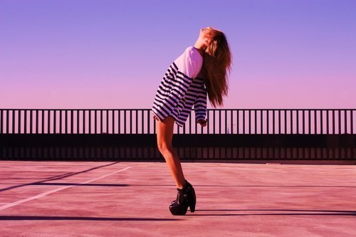 beautiful, black, blonde, clothes, fashion, girl, hair, model, pink, shoes, summer, teen