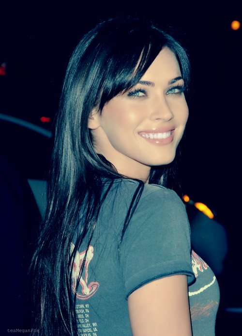 beautiful, black, blue, brunette, eyes, fox, girl, gorgeous, hair, hot, lips, megan, megan fox, motorhead, perfect, princess, queen, sexy, smile, woman
