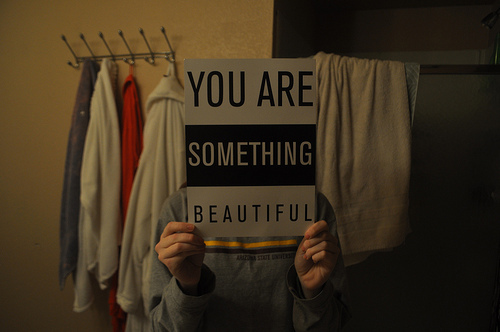 beautiful, black, boy, cute, dark, girl, grey, inspirational, life, light, love, photography, pretty, quotes, something, text, typography, you