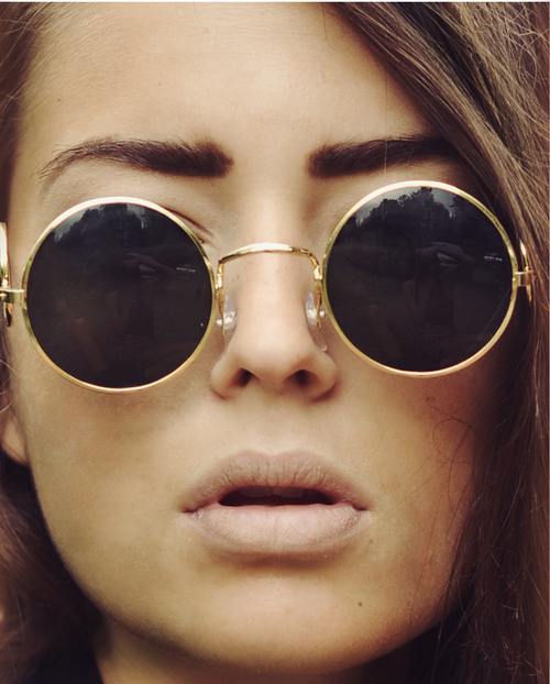 best ray ban sunglasses for round face female