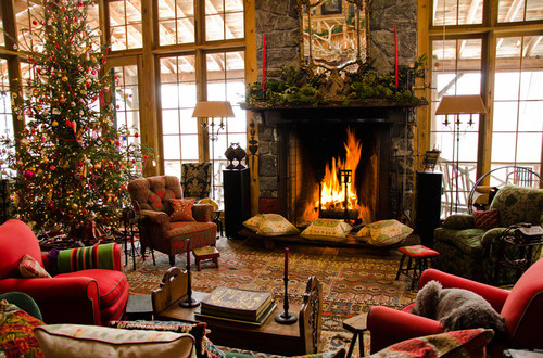 beautiful, christmas, fire, fire place, photography