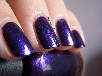 beautiful, dark blue, nail polish, nailpolish, nails