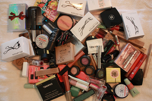 beauty, brands, chanel, curler, elf, eyelashes, eyes, face, girl, girls, lipgloss, lips, lipstick, makeup, nars, products, style, want