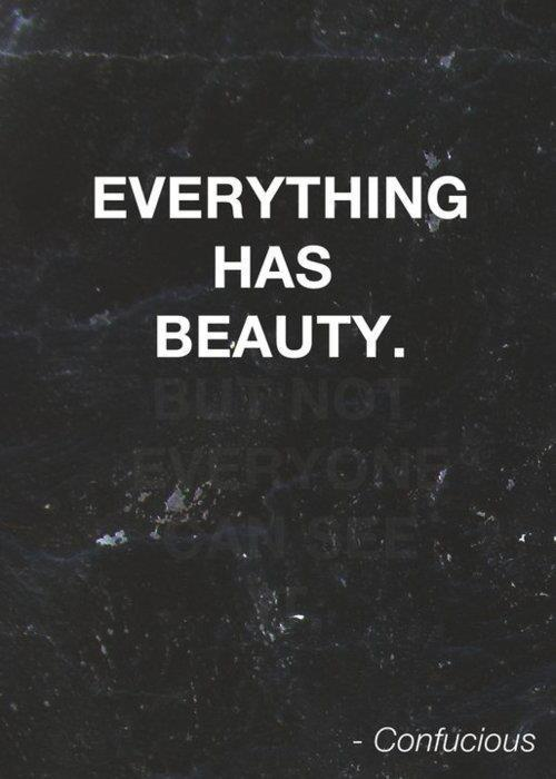 beauty, but, can, cool, everyone, everything, has, inspiration, invisible, not, see, text, words