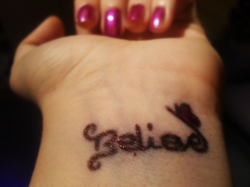 belieber, believe, black and white, butterfly, justin bieber, nail, pen, photography, polish, purple, swag, typography