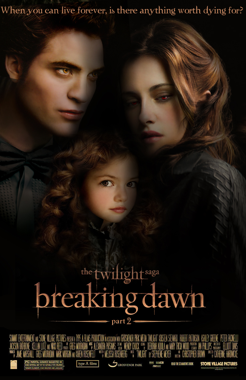 bella cullen, breaking dawn part 2, edward cullen, renesmee cullen