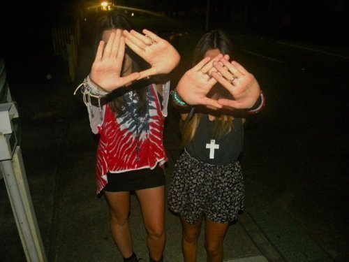 best friends, brunette, clothes, cross, cute, emotions, fashion, feeling, free, friends, girl, girls, hipster, hipster symbol, hot, legs, necklace, night, party, photography, rings, sexy, shorts, style, summer, sweet, symbol, triangel, vintage